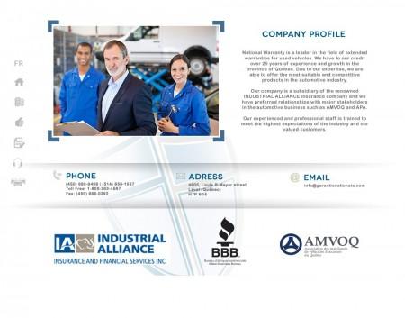Profil de compagnie