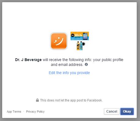 Permission Facebook #1