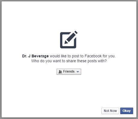 Permission Facebook #2